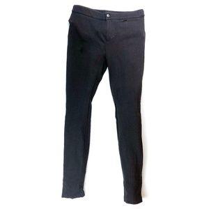 """Vince Solid Black Skinny Pants Slacks 9"""" Mid Rise"""